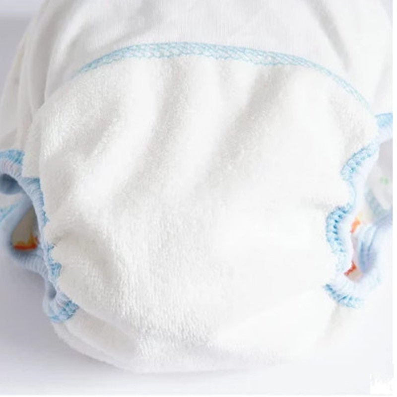 Baby Cotton Training Pants Panties Baby Diapers Reusable Cloth Diaper Nappies Washable Infants Children Underwear Nappy Changing 6