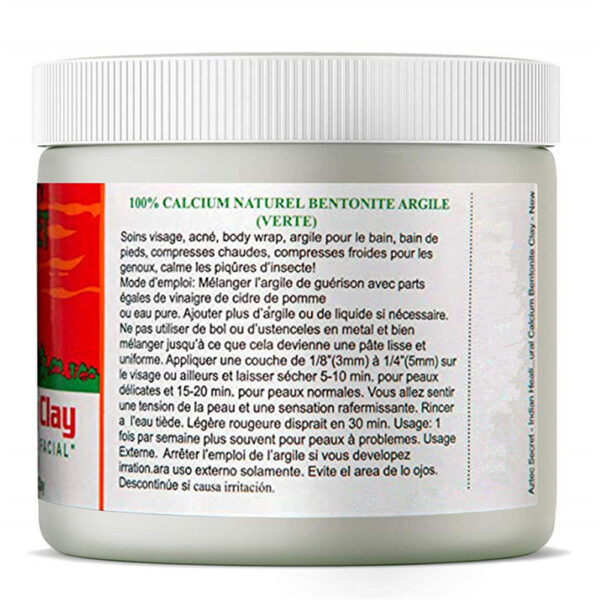 Skin Care Indian Healing Clay Face Mask Blackhead Remover Deep Cleansing Brightens Skin Tone Shrink Pores Moisturizing Masks 3