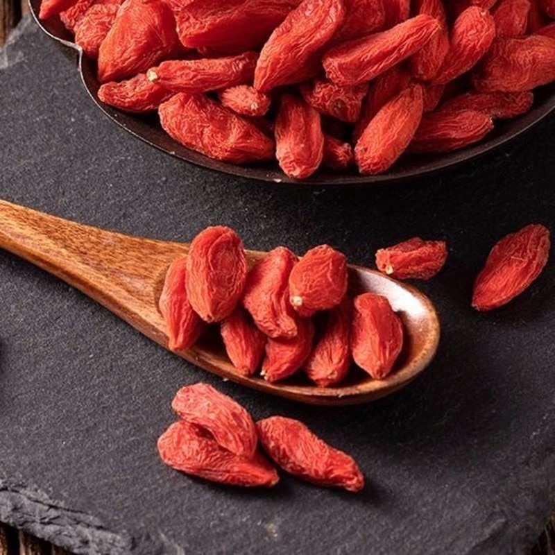Organic Goji Berry Dried Wolfberry tea Berries Kidney tonifying Improving sexual ability 5