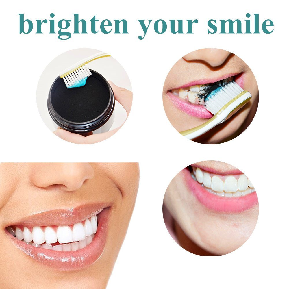 60g Tooth Whitening Powder Activated Coconut Charcoal Natural Teeth Whitening Charcoal Powder Tartar Stain Removal 3