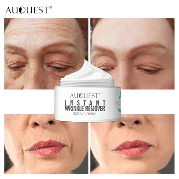 AuQuest Face & Neck Firming Cream Skin Lifting Wrinkle Removal Cream Woman Beauty Face Cream Skin Care 3