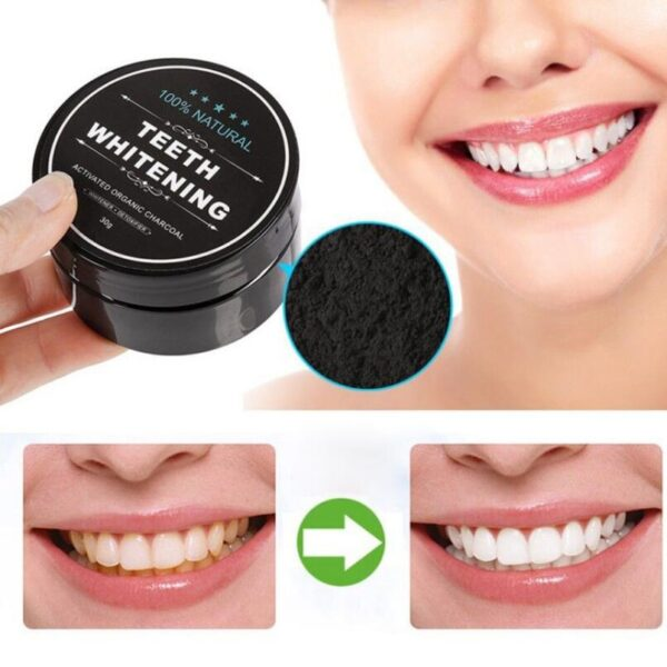 10pcs New Arrivals Activated Charcoal Teeth Whitening Powder Natural Tooth Cleaning Powder Remove Smoke Tea Coffee Yellow Stains 3