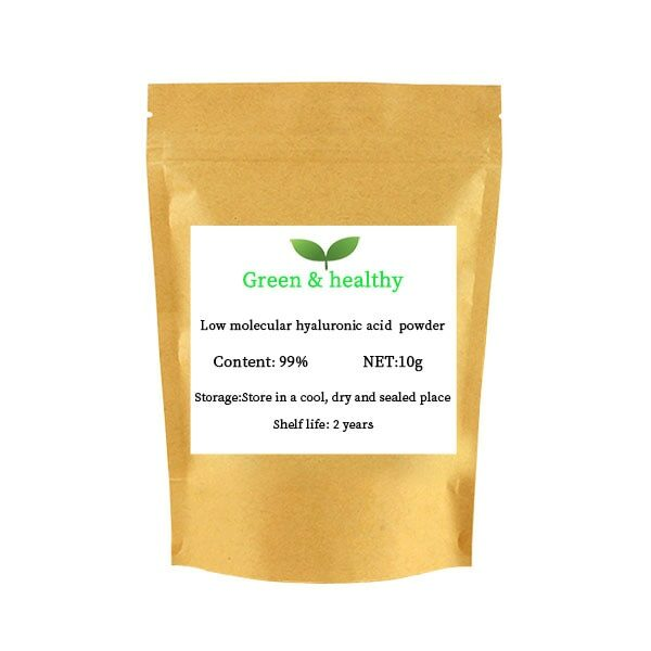 Low-molecular-weight hyaluronic acid powder anti-wrinkle anti-aging molecular weight, moisturizing 2