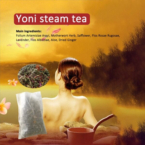10 Packs Yoni Steam Herbs Natural Healing Vagina Cleanse Yoni Wash Remove Odor Vulva Detox for Women Private Part Health Care 6