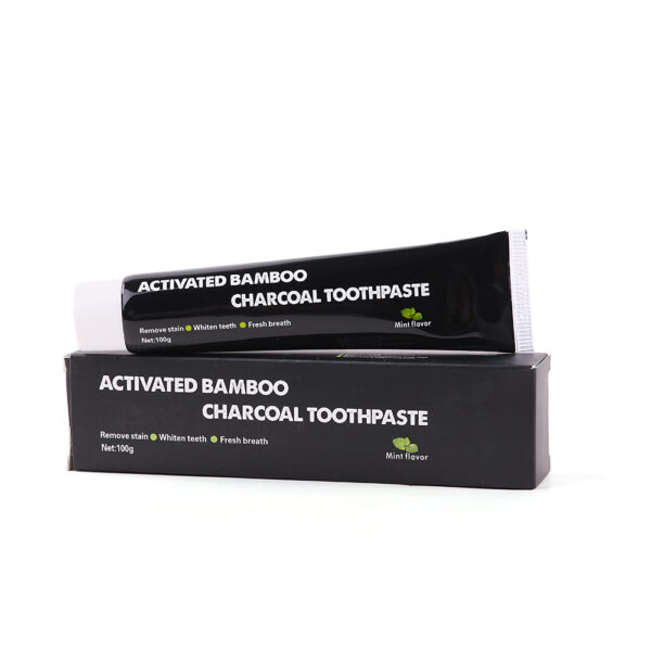 2 boxes Tooth Care Bamboo Natural Activated Charcoal Teeth Whitening Toothpaste Oral Hygiene Dental oral cleaning 3