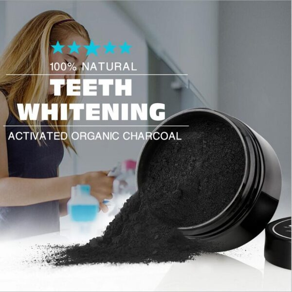 10pcs New Arrivals Activated Charcoal Teeth Whitening Powder Natural Tooth Cleaning Powder Remove Smoke Tea Coffee Yellow Stains 2