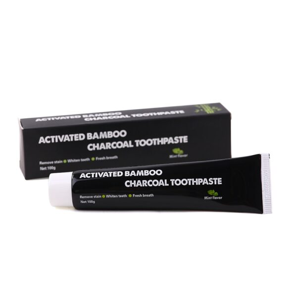 2 boxes Tooth Care Bamboo Natural Activated Charcoal Teeth Whitening Toothpaste Oral Hygiene Dental oral cleaning 6