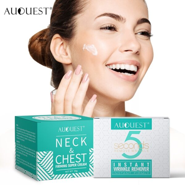 AuQuest Face & Neck Firming Cream Skin Lifting Wrinkle Removal Cream Woman Beauty Face Cream Skin Care 1