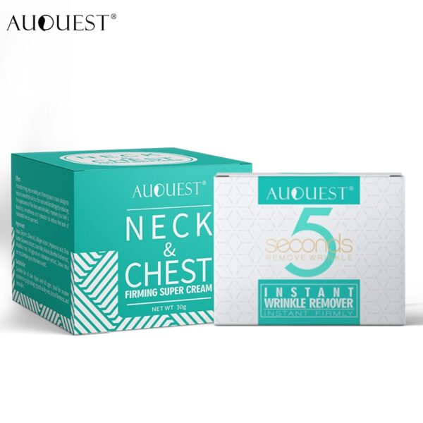 AuQuest Face & Neck Firming Cream Skin Lifting Wrinkle Removal Cream Woman Beauty Face Cream Skin Care 6