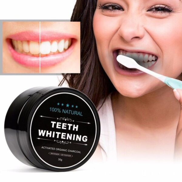 10pcs New Arrivals Activated Charcoal Teeth Whitening Powder Natural Tooth Cleaning Powder Remove Smoke Tea Coffee Yellow Stains 1